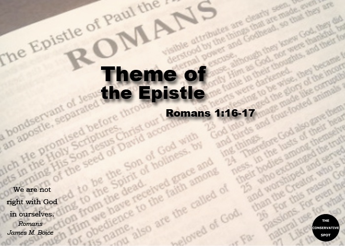 The Theme of the Epistle