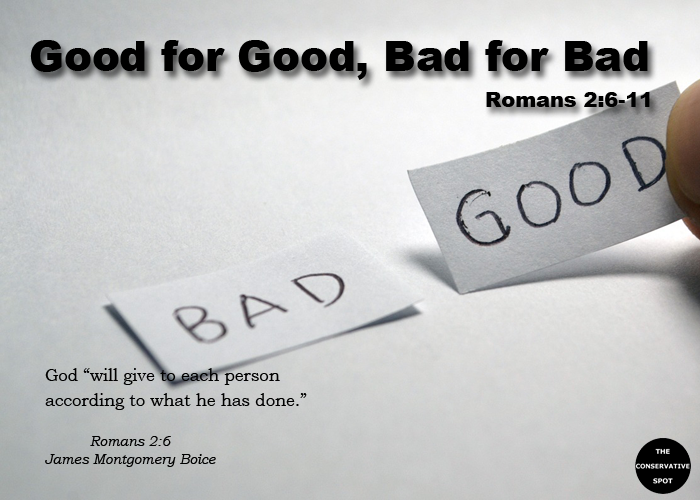Good for Good, Bad for Bad